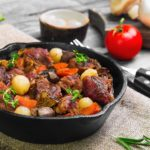 Beef Bourguignon in Cast Iron Pan Recipe