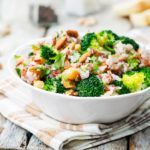 Broccoli Chickpea Red Rice Salad Recipe